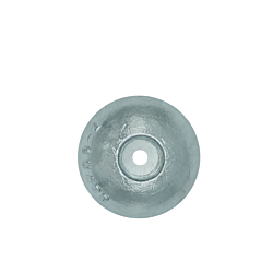Aluminium Hull Anode Bolt on disc 140MM dia.