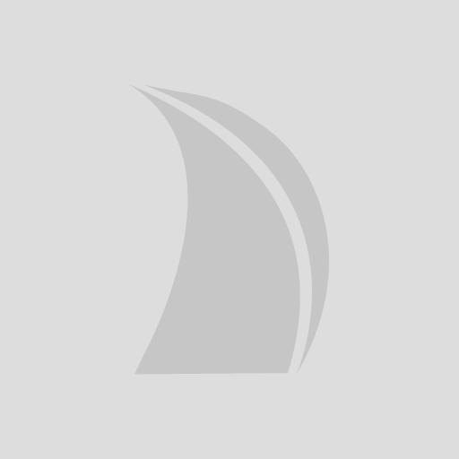Narrow Boat / Flat-sided Fenders 60 x 5 Single eye White