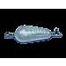 Aluminium Pear shaped Hull Anode 1 Kgs Nominal Net Weight Kit